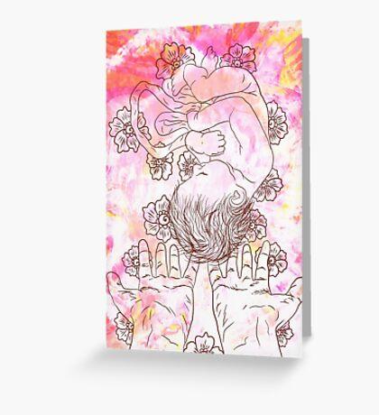 Celebrating Birth Greeting Card