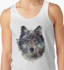 Wolf // Durchhalte dich Tanktop für Männer