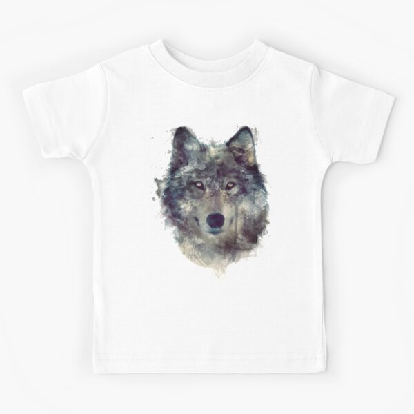 Wolf // Persevere Kids T-Shirt