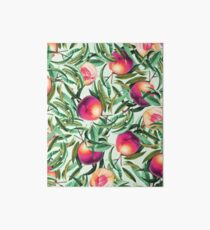 Sweet Peaches #redbubble #decor  Art Board