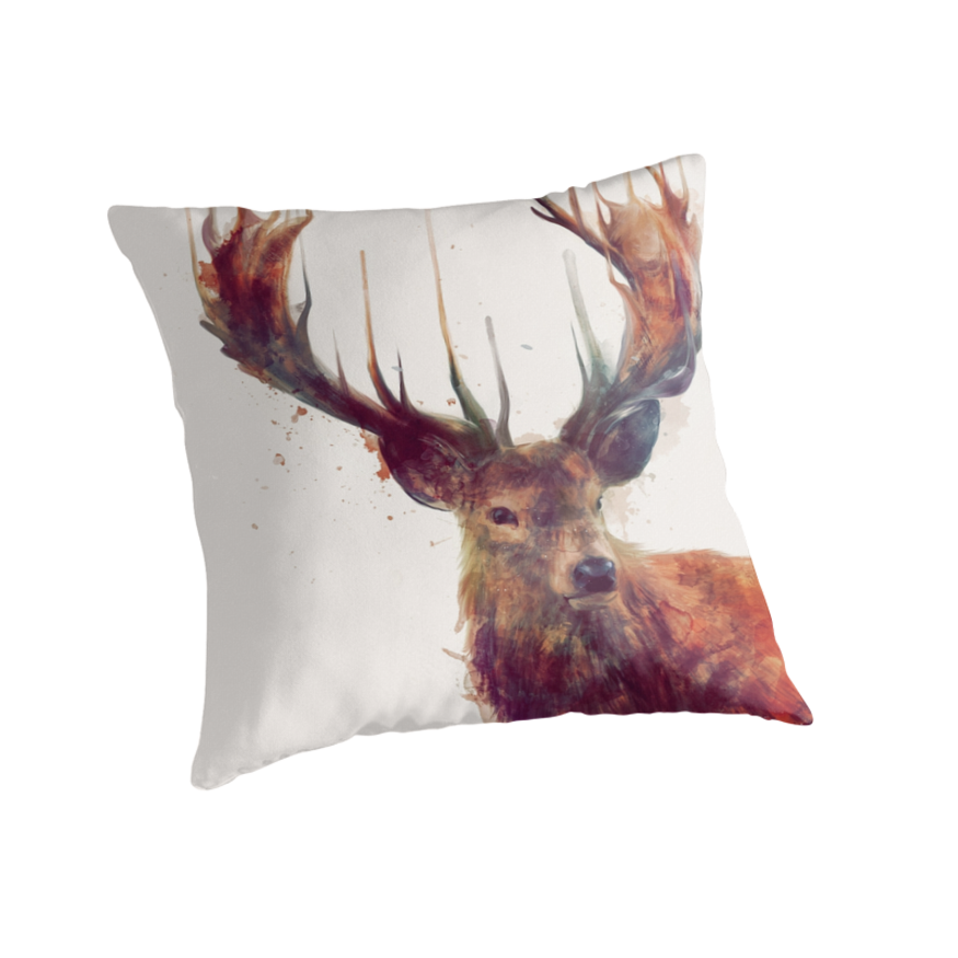 Throw Pillows Deer :