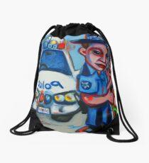 The Intercept (Final Version) Drawstring Bag