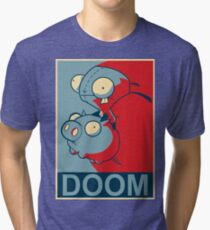 "GIR Doom- ""Hope"" Poster Parody Tri-blend T-Shirt"