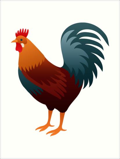 101+ Gambar Ayam Art Paling Bagus