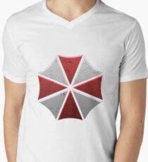 umbrella corporation Men's V-Neck T-Shirt