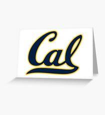 Cal Bears Greeting Card