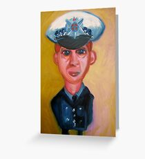 The Informant. Greeting Card
