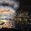 What a Blast - Sydney NYE Fireworks 2017 #1 by Philip Johnson
