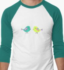 Colorful birds on wires T-Shirt