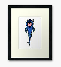 Sucker Fish Framed Print