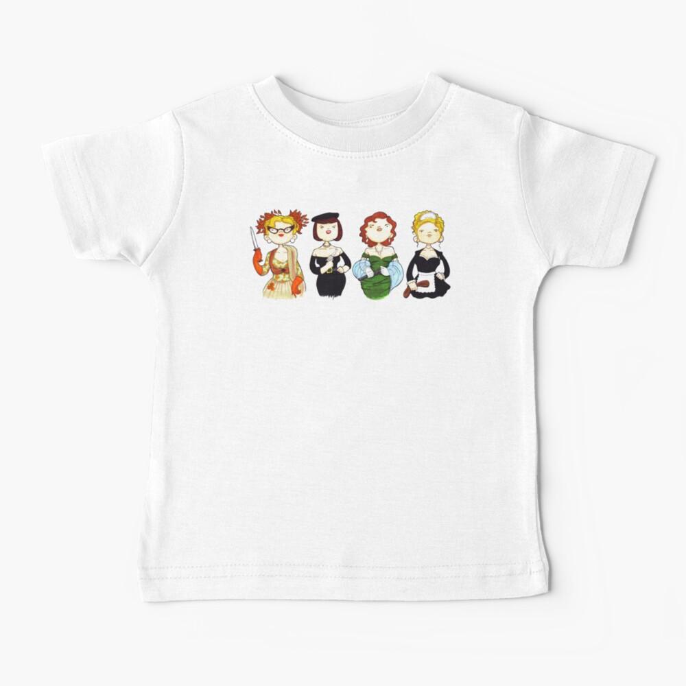Ladies of Clue Baby T-Shirt