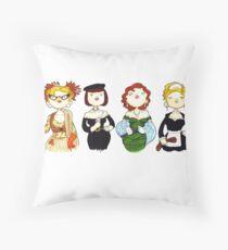 Ladies of Clue Throw Pillow