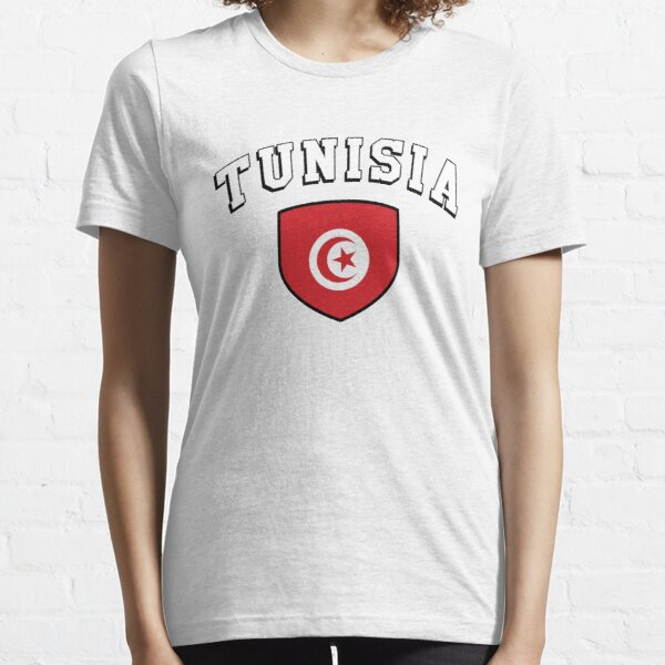 Tunesien Unterstützer Essential T-Shirt