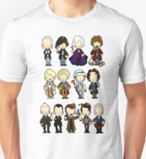 The Doctors 1-11 (plus war doc) T-Shirt
