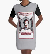 You Stay Classy! San Diego Graphic T-Shirt Dress