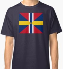 Union Mark Sweden Norway Classic T-Shirt