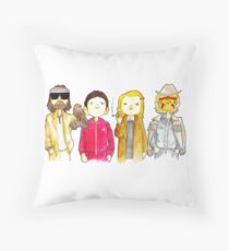 Royal Tenenbaum bought the house on Archer Avenue in the winter of his 35th year Throw Pillow