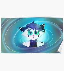 Wolfcat Whirl Poster