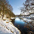 River Wharfe at Appletreewick by Dan Shalloe