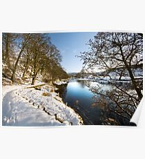 River Wharfe at Appletreewick Poster