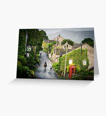 Rain shower in Appletreewick Greeting Card