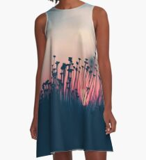 beach sunset A-Line Dress