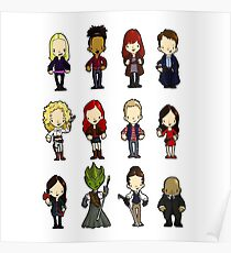 Doctors Companions and friends Poster