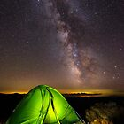 Tent with Milky Way above by naturalis
