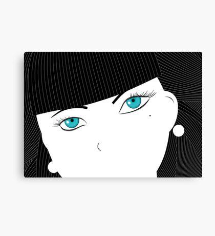 Ice Girl Canvas Print