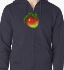 Sudadera con capucha y cremallera Wumpa Fruit
