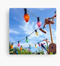 Playland lights Canvas Print