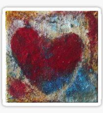 The Patriot Heart Sticker