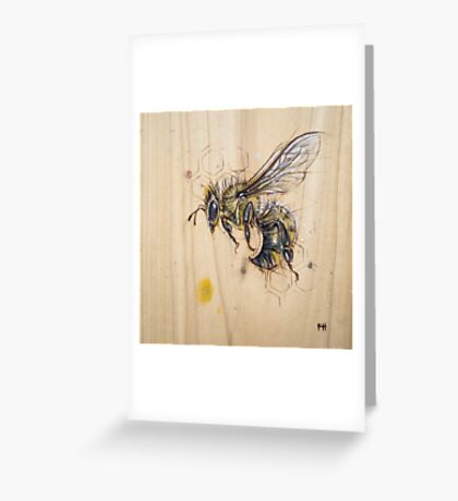 Bee #5 Greeting Card