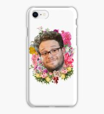 Seth Rogen Floral iPhone Case/Skin