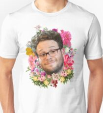 Seth Rogen Floral T-Shirt
