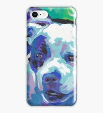 staffordshire Bull Terrier Bright colorful pop dog art iPhone Case/Skin