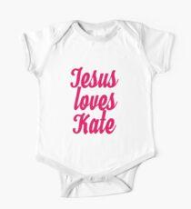 Jesus loves Kate One Piece - Short Sleeve