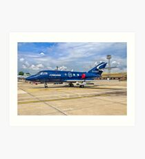 Dassault Falcon 20DC G-FRAH Art Print