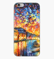 VENICE - GRAND CANAL - Leonid Afremov iPhone Case