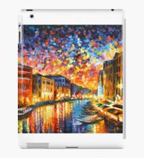 VENICE - GRAND CANAL - Leonid Afremov iPad Case/Skin
