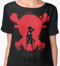 Luffy Chiffon Top