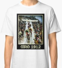 GIRO; Vintage Bicycle Race Advertising Print Classic T-Shirt