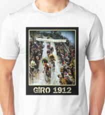 GIRO; Vintage Bicycle Race Advertising Print Unisex T-Shirt