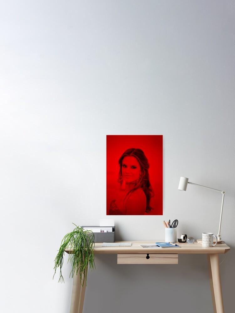 Art print POSTER CANVAS Alessandra Ambrosio