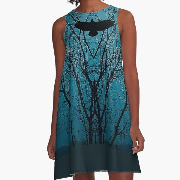 Corvis Mortis A-Line Dress