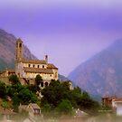 Swiss View by Charmiene Maxwell-Batten