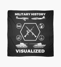 Military History Visualized - Planes, Tanks & Icons Scarf