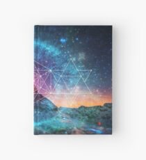 Sacred Geometry - Space Triplet Hardcover Journal