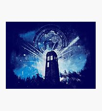 the lighthouse of gallifrey Photographic Print