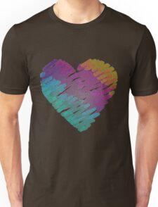 Texture heart. Unisex T-Shirt